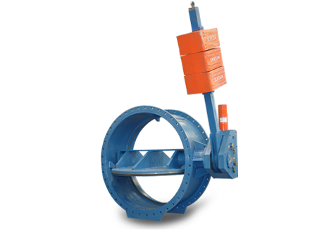 HYDRAULIC CONTROLLED CHECK BUTTERFLY VALVE